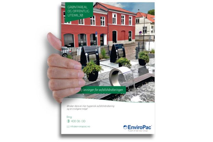 Avfallsløsninger for grøntareal og offentlig utemiljø