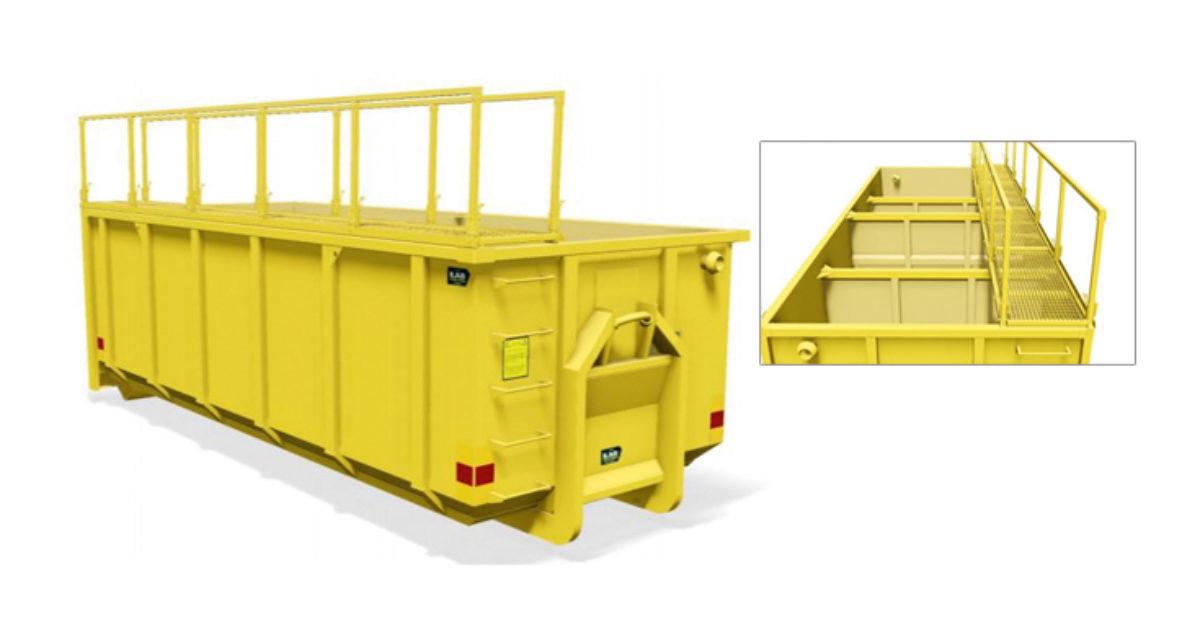 Sedimenteringscontainer fra ILAB