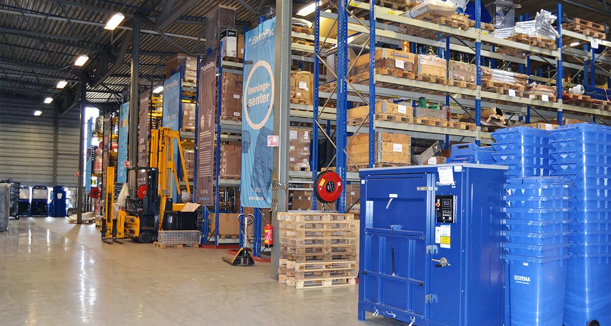 Optimal avfallshåndtering på lageret