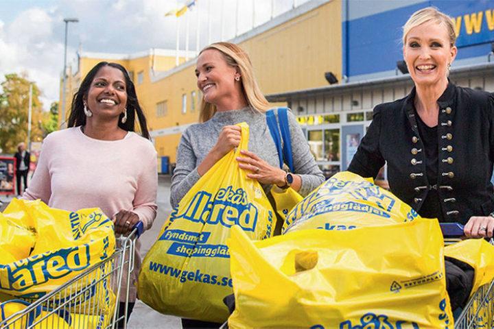 Avfallshåndtering og resirkulering hos Gekås Ullared