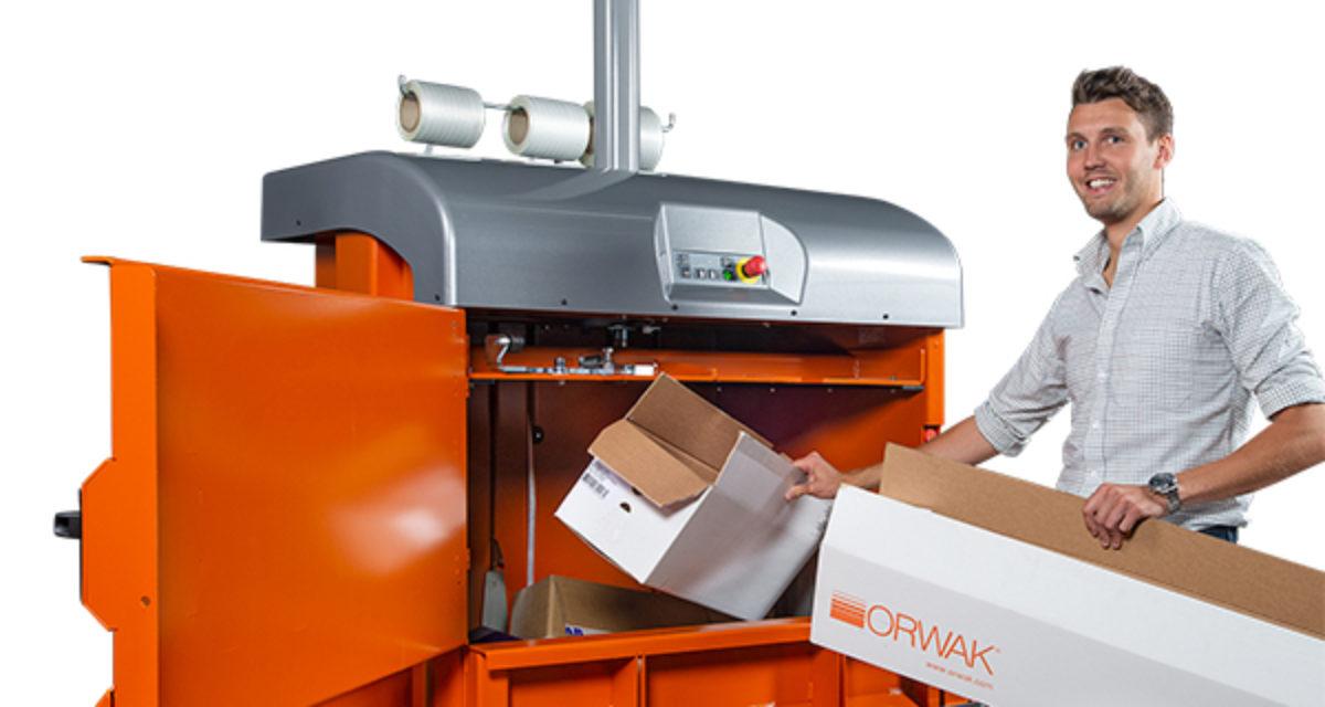 Vintertilbud på ORWAK 3120 emballasjepresse
