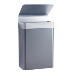 Vegghengte avfallsbeholdere