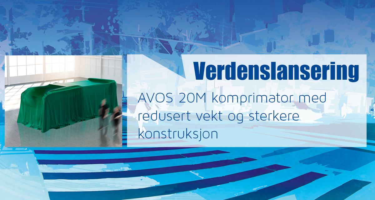 Verdenslansering AVOS 20M