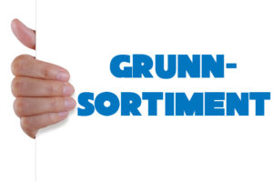 Grunnsortiment