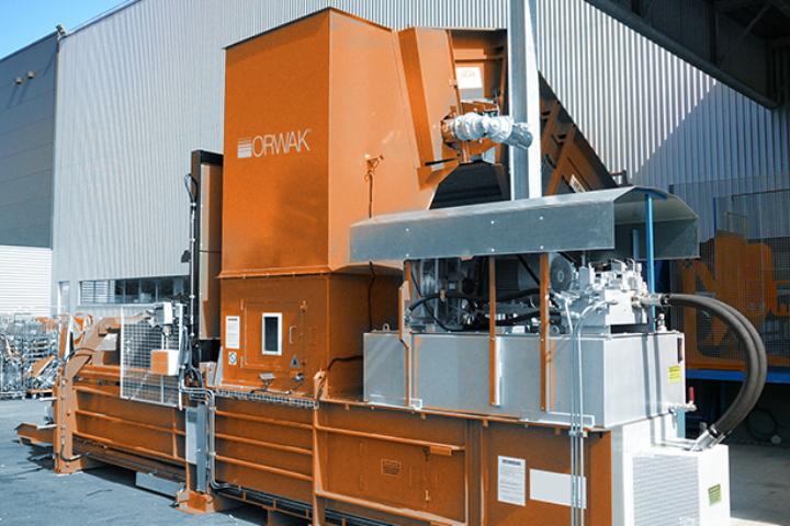 Orwak introduserer horisontale emballasjepresser