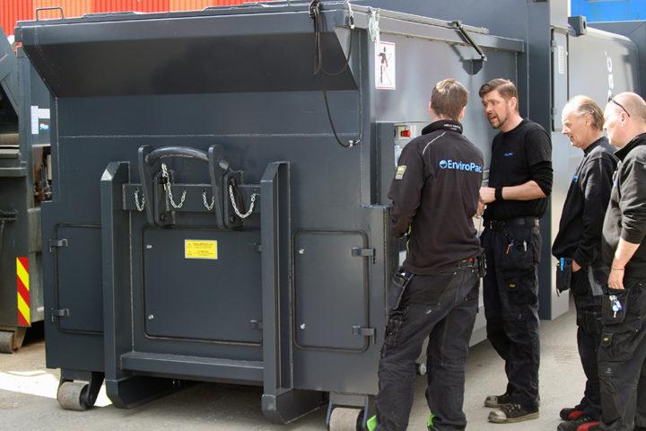 Økt sikkerhet og fortjeneste med service på dine avfallsmaskiner