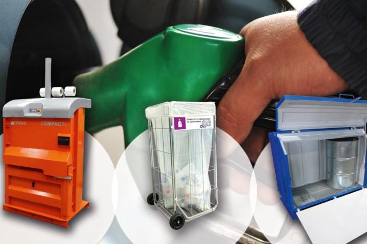 Vi har levert avfallsløsninger til bensinstasjoner i 25 år