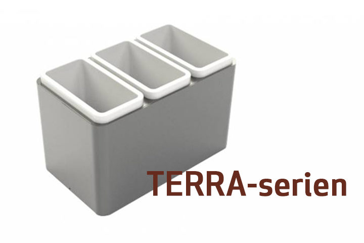 Terra-serien, kildesortering uten bruk av plastsekker