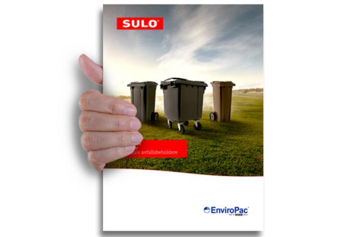 Ny katalog på SULO 2- og 4-hjuls avfallsbeholdere