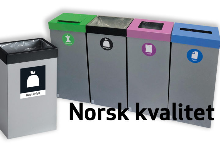Med «Femunden» avfallsbeholder – går en større andel av avfallet til gjenvinning