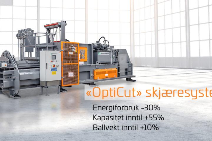Avermanns OptiCut øker produktiviteten med opptil 55 %