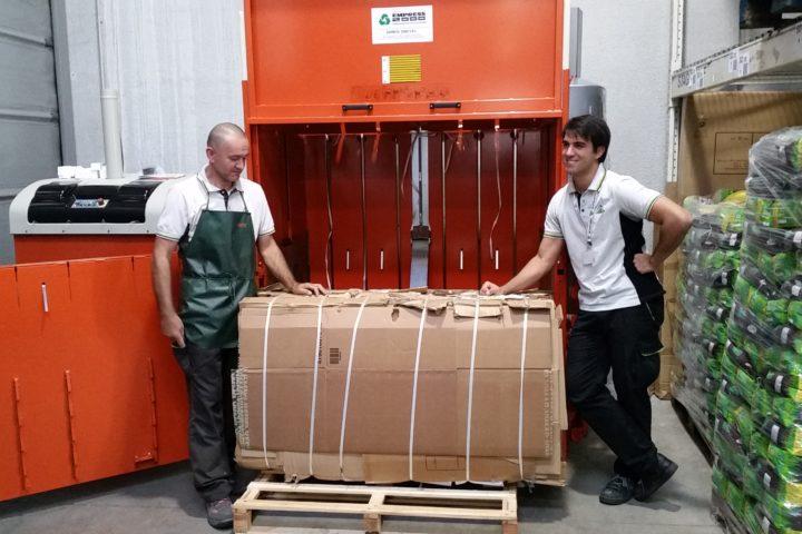 Norges største utvalg av emballasjepresser