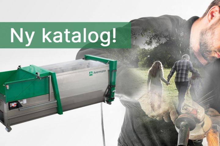 Ny katalog på avfallskomprimatorer