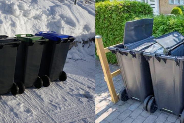 Decem gjør at renovatøren kan samle inn flere fraksjoner med færre beholdere