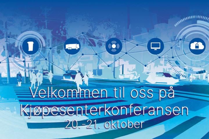 Velkommen til oss på Kjøpesenterkonferansen!